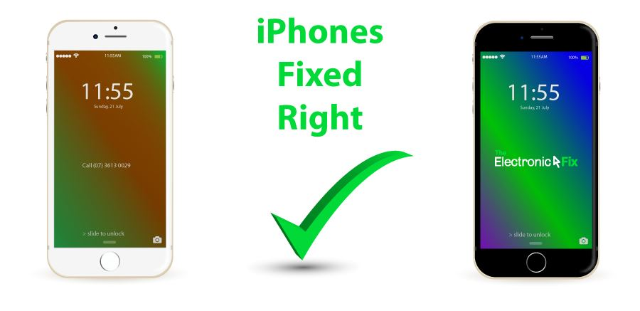 Apple iPhones Fixed Right