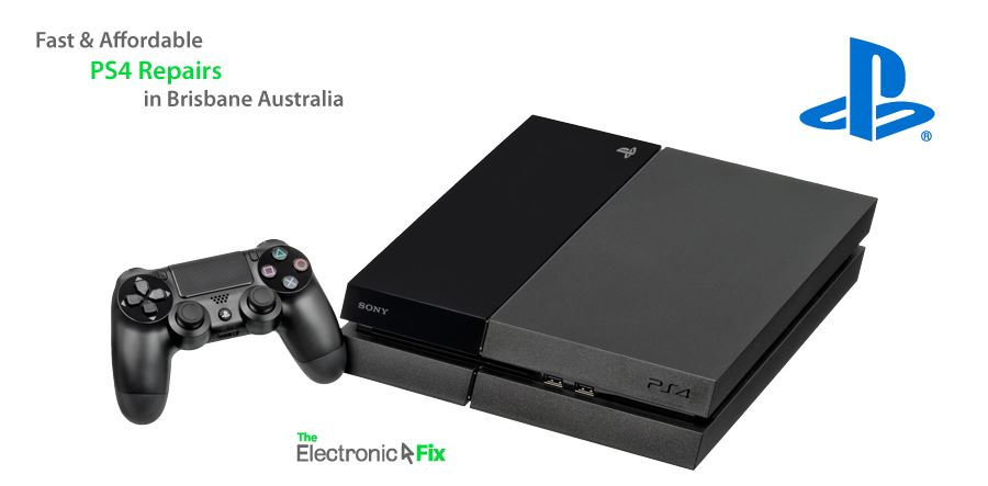 SONY PlayStation 4 game console and controller