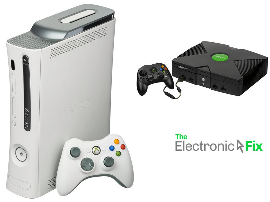 Xbox 360 and original Xbox game console