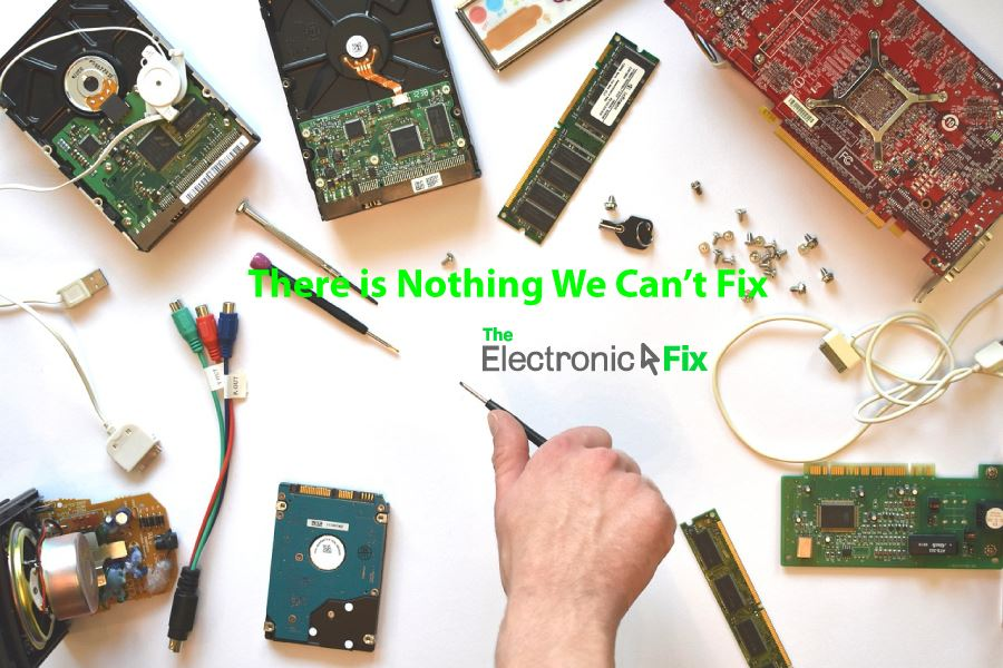 computer hardware and parts and tools for electronics repair service