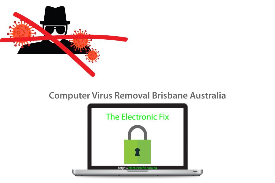 computer laptop security computer virus removal Brisbane Australia