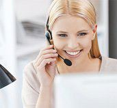 customer support personnel on call