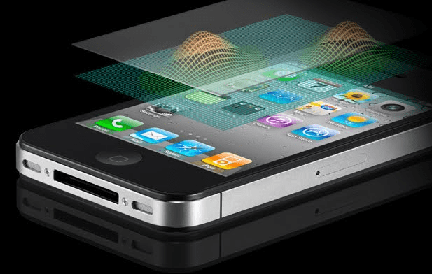 iPhone 4 and its user interface