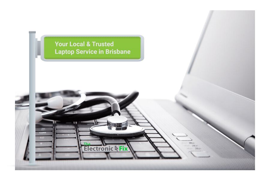laptop with stethoscope on laptop keyboard