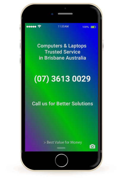 mobile phone with our business phone number