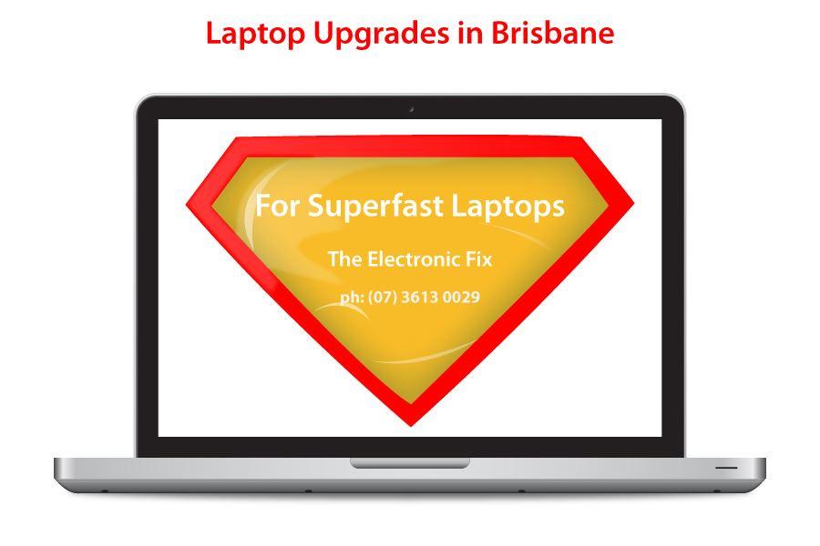 superfast laptop upgrades in Brisbane Australia